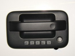 Door Lock Protection Plates Ford F150