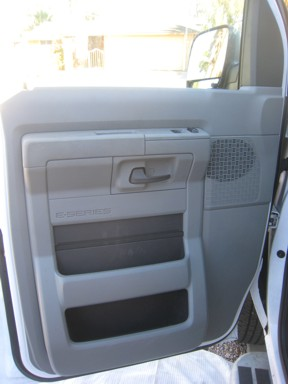 Ford Van Door Panel Removal