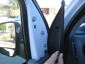 Ford Van Door Lock Protection Repair