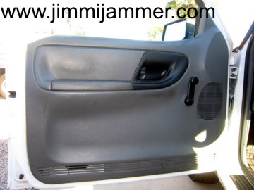 & Ford Ranger door panel removal