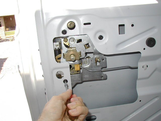 Express Van Door Handle Plate