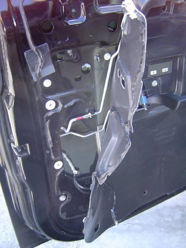 Hummer H2 Door Panel Removal
