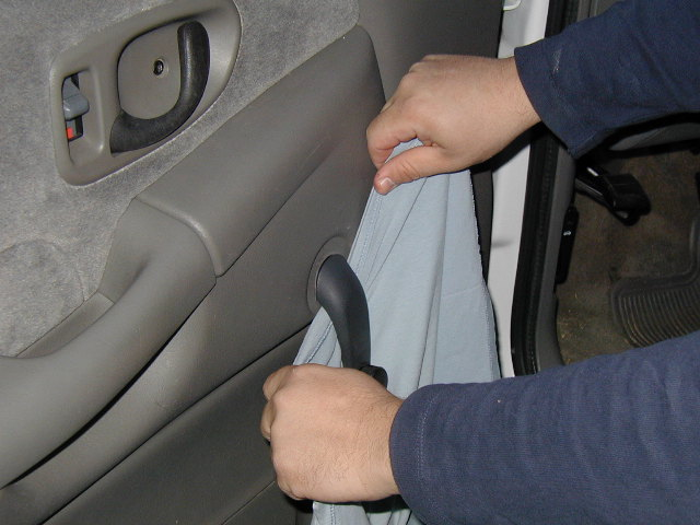 Chevy Gmc S10 Door Panel Removal