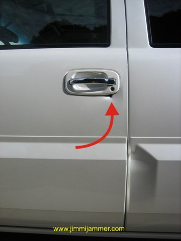 Car Door Unlock Kit >> Silverado Sierra Tahoe Suburban Yukon Escalade door handle lock protection plates